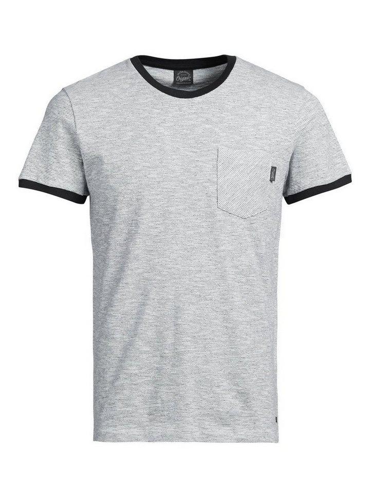 Jack & Jones Lebhaftes T-Shirt in Cloud Dancer
