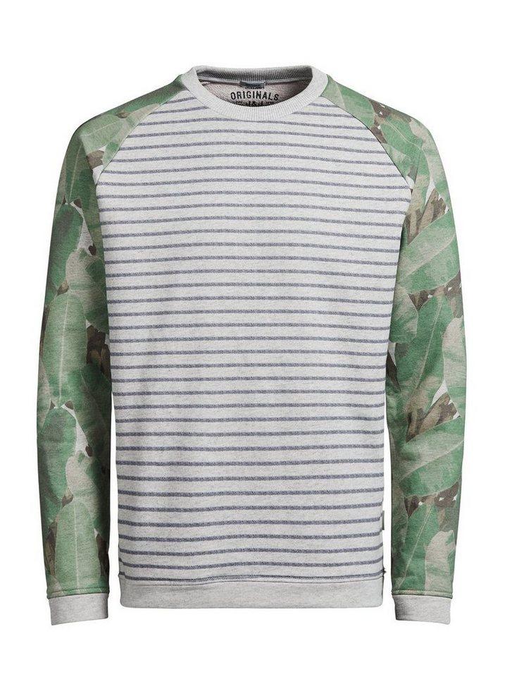 Jack & Jones Detailliertes Sweatshirt in Treated White