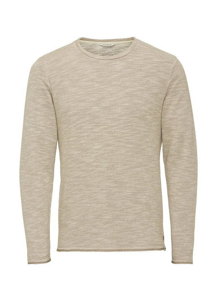 Jack & Jones Robustes Melange- Sweatshirt in Silver Mink