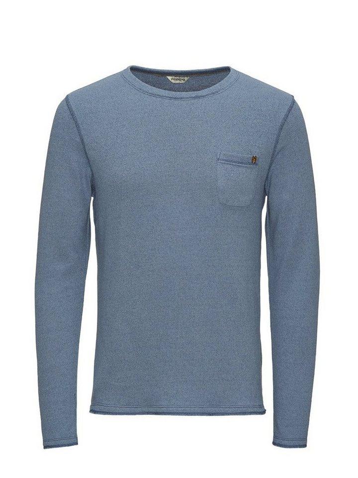 Jack & Jones Rustikales T-Shirt in Blue Mirage