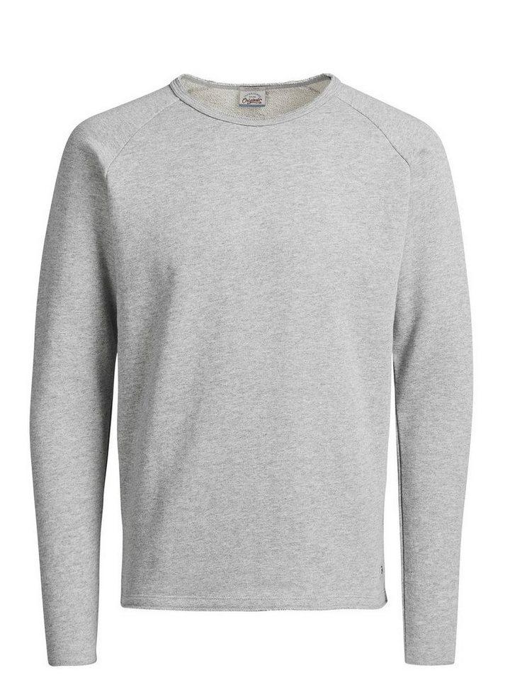 Jack & Jones Lässiges Sweatshirt in Grey Melange