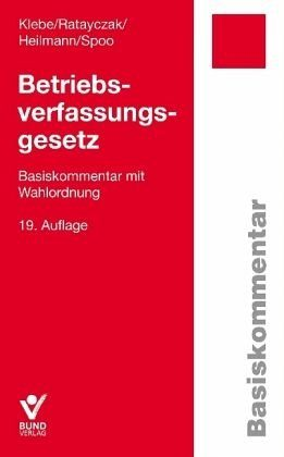 Broschiertes Buch »Betriebsverfassungsgesetz (BetrVG)«