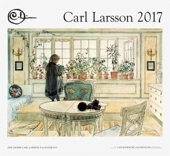 Kalender »Der Große Carl Larsson-Kalender 2017«