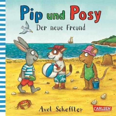 Buch mit Papp-Einband »Pip und Posy: Der neue Freund«