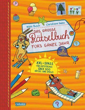 Broschiertes Buch »Das große Rätselbuch fürs ganze Jahr«