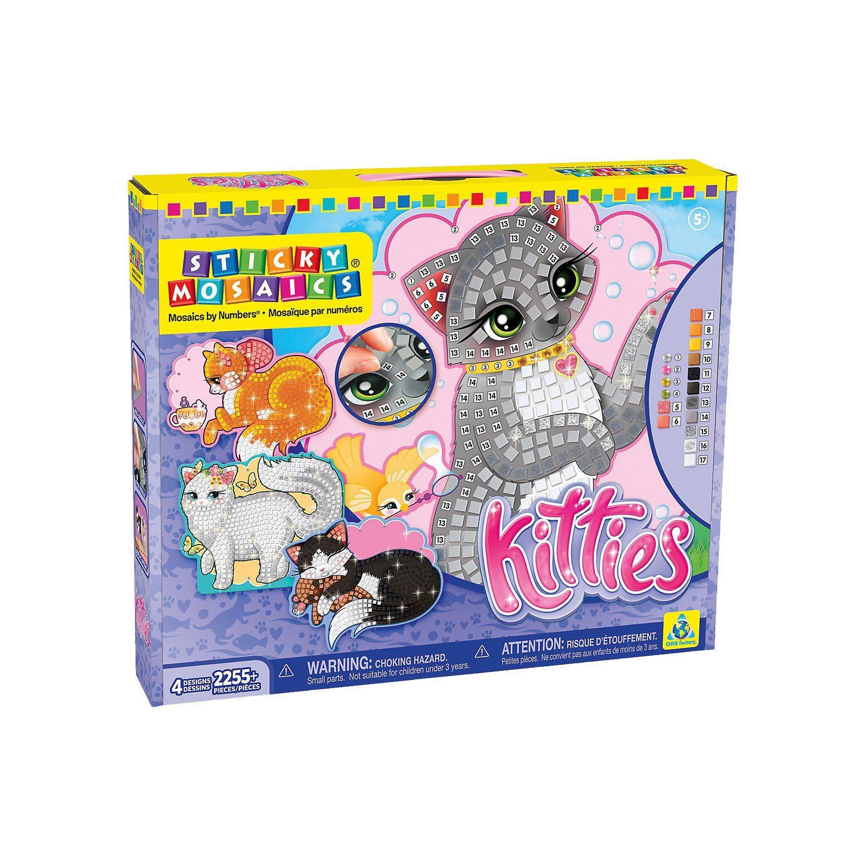 Sticky Mosaics Katzen