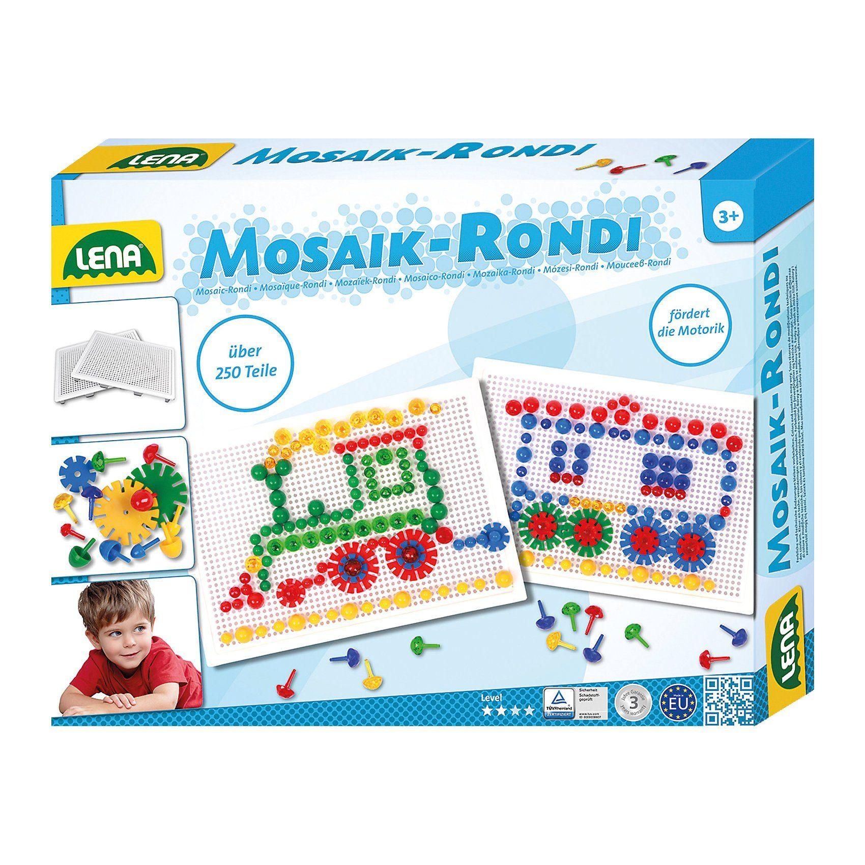 LENA Mosaik & Rondi 3 in 1