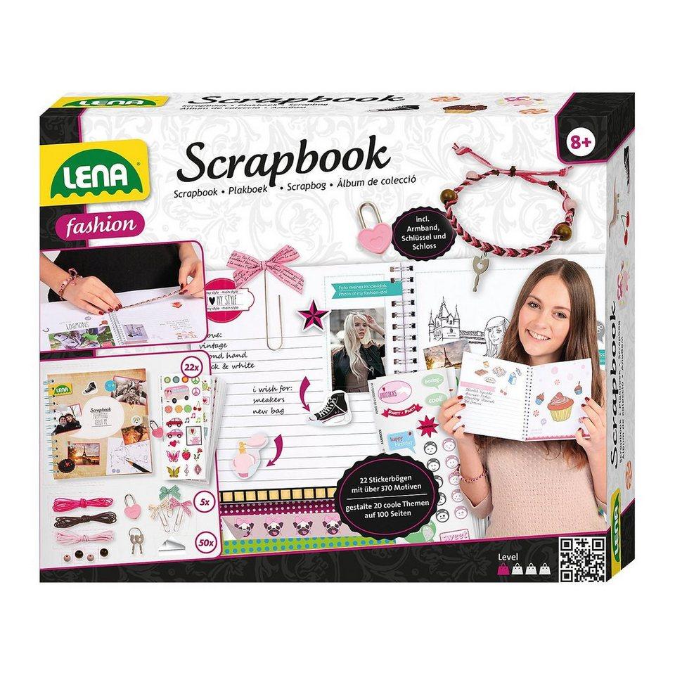 LENA Scrapbook, groß