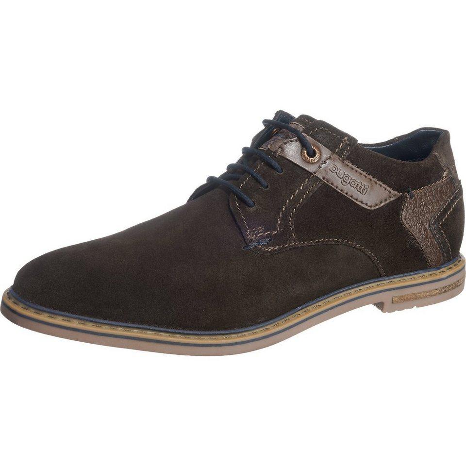 bugatti Freizeit Schuhe in dunkelbraun