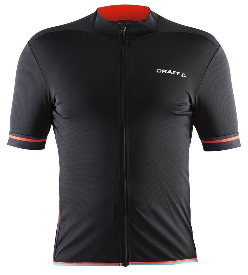 Craft Radtrikot »Classic Jersey Men« in schwarz