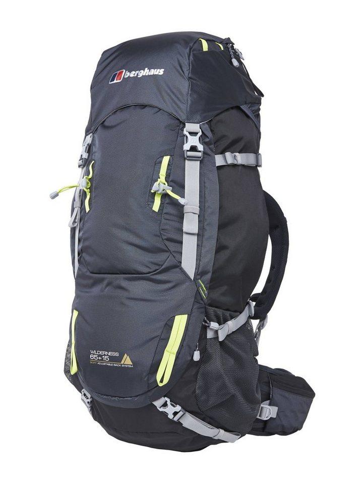 Berghaus Sport- und Freizeittasche »Wilderness 65+15 Backpack« in grau
