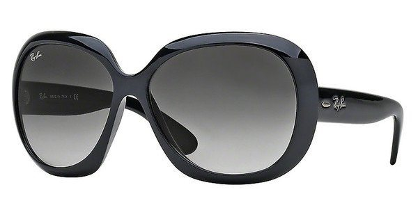 RAY-BAN Damen Sonnenbrille »JACKIE OHH II RB4098« in 601/8G - schwarz/grau