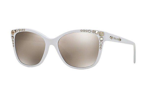 Versace Damen Sonnenbrille » VE4270« in 401/5A - weiß/gold