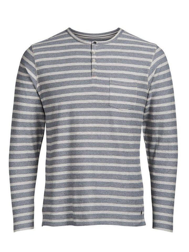 Jack & Jones Classic T-Shirt mit langen Ärmeln in Federal Blue