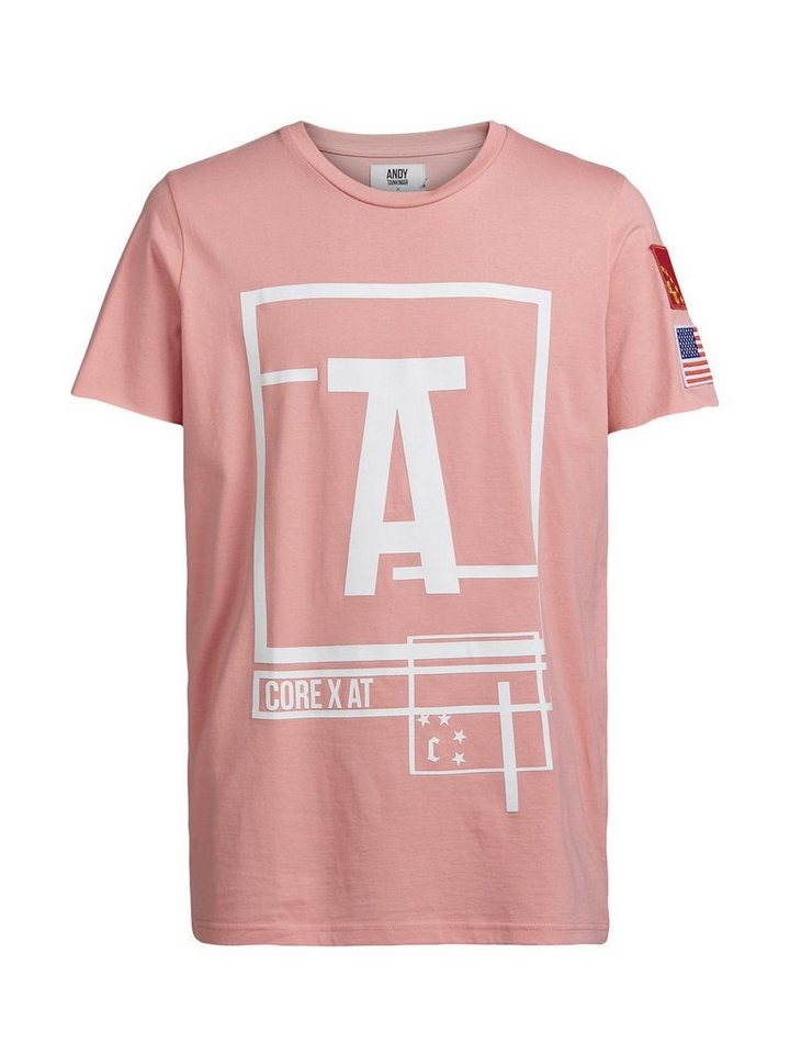 Jack & Jones Andy Tankmar Oversize T-Shirt in Salmon Rose