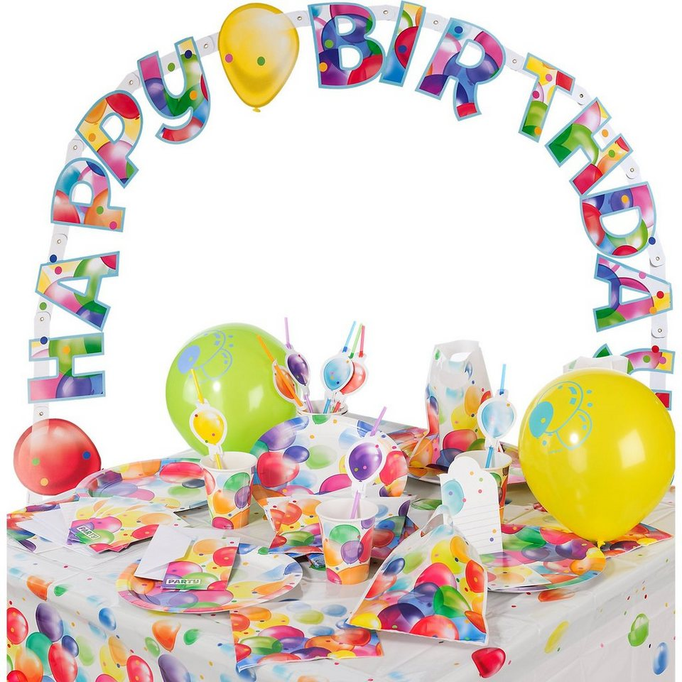 Amscan Partyset Balloons, 68-tlg.