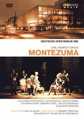 DVD »Graun, Carl Heinrich - Montezuma«