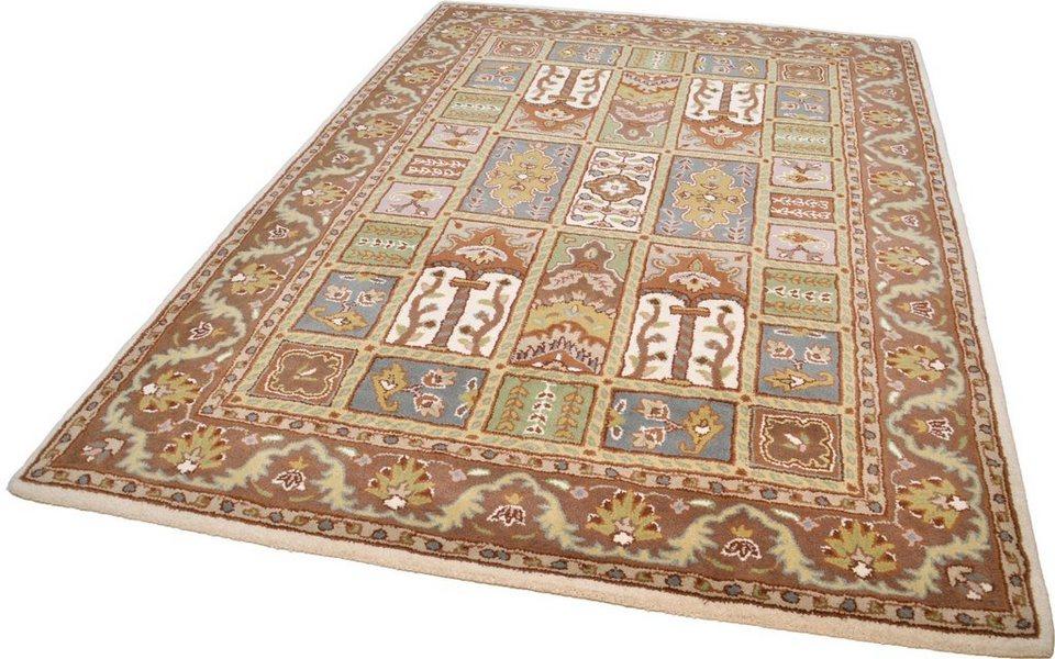 Orientteppich »Royal Ghom«, Theko exklusiv, rechteckig, Höhe 10 mm in creme