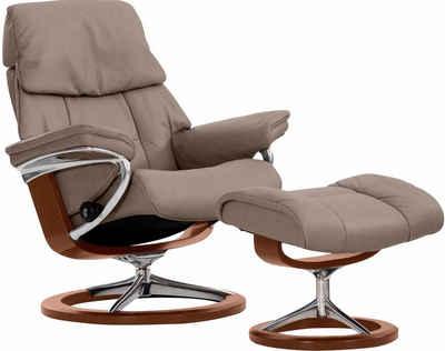 Exceptional Stressless® Set: Relaxsessel Mit Hocker »Ruby« Mit Signature Base, Größe M Good Ideas