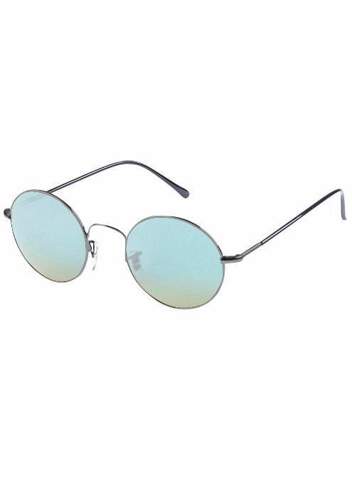 MasterDis Sonnenbrille in runder Form in grau-blau