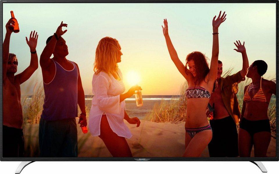 Sharp LC-49CFE6242E, LED Fernseher, 125 cm (49 Zoll), 1080p (Full HD), Smart-TV in schwarz