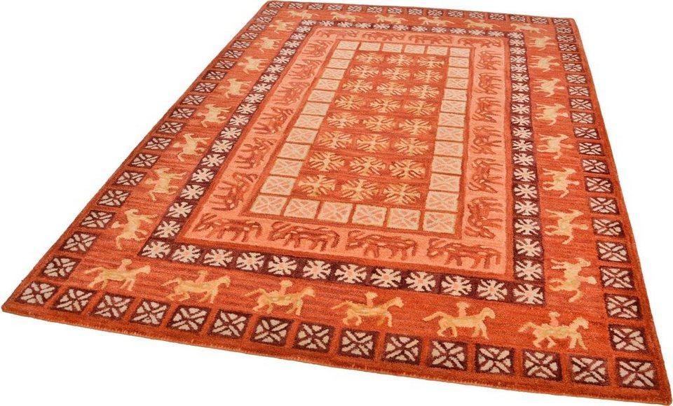 Teppich »Pazyryk«, Theko exklusiv, rechteckig, Höhe 10 mm
