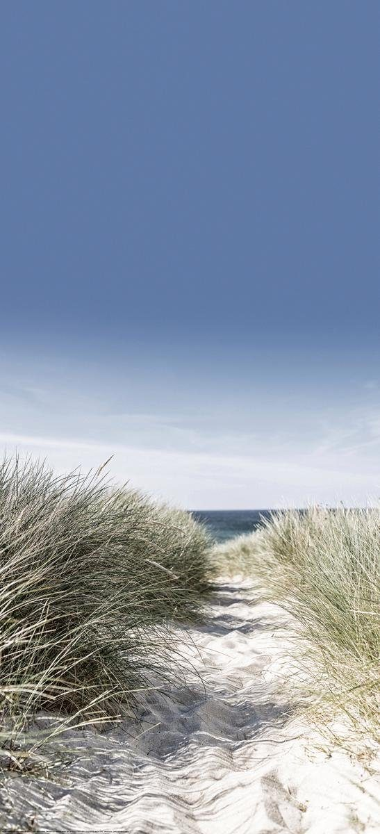 Eurographics Türtapete »Dunes with Beach Grass«, 92/202 cm