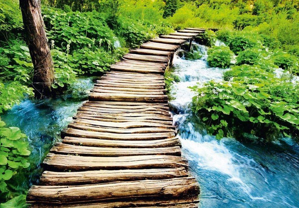 Eurographics Fototapete »Stairway To Heaven I«, 366/254 cm in bunt