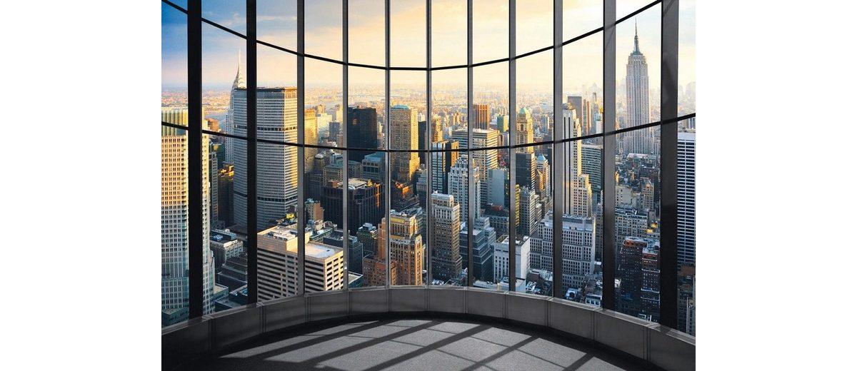 Eurographics Fototapete »New York Office View«, 366/254 cm