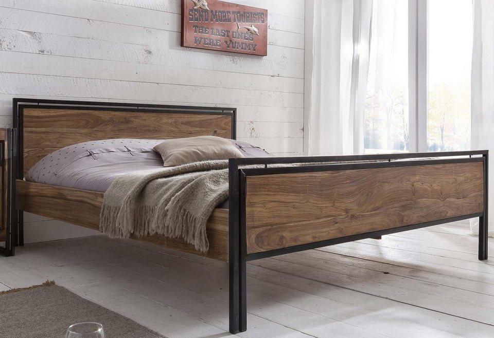 SIT Bett »Panama« in natur/antikschwarz