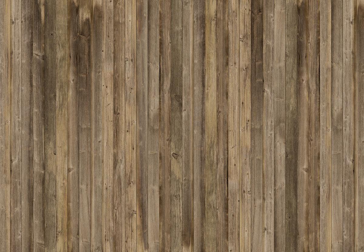 Eurographics Fototapete »Brown Wood Wall«, 366/254 cm