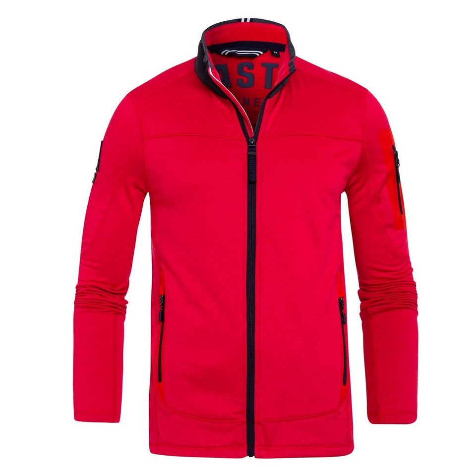 Gaastra Fleecejacke in rot