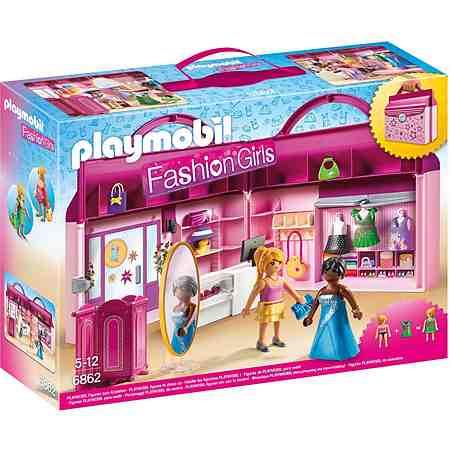Playmobil® Modeboutique zum Mitnehmen (6862), »Fashion Girls«