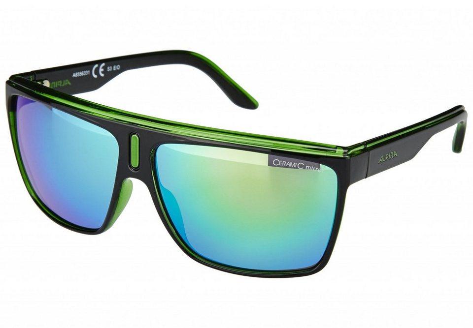 Alpina Radsportbrille »Baranya Brille« in schwarz