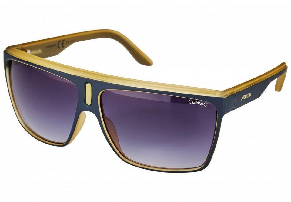 Alpina Radsportbrille »Baranya Brille« in blau
