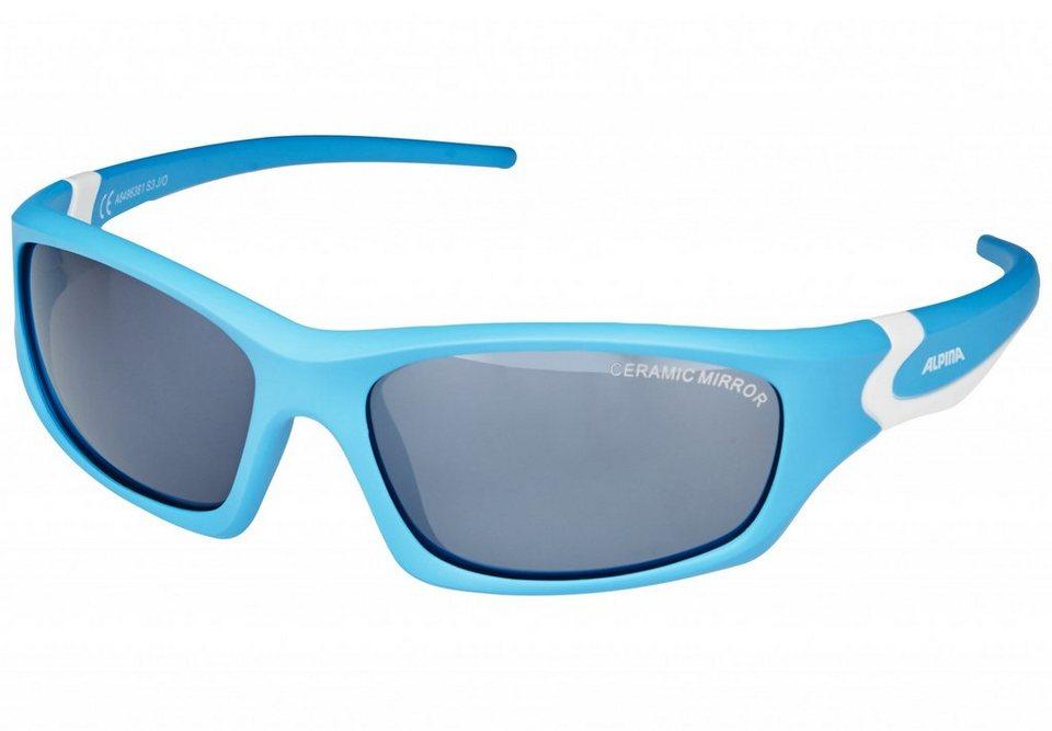 Alpina Radsportbrille »Flexxy Teen Brille« in blau