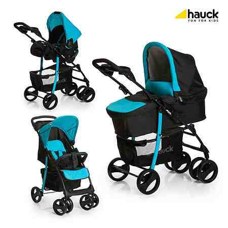 Hauck Shopper SLX Kombikinderwagen Trio-Set Design 2016
