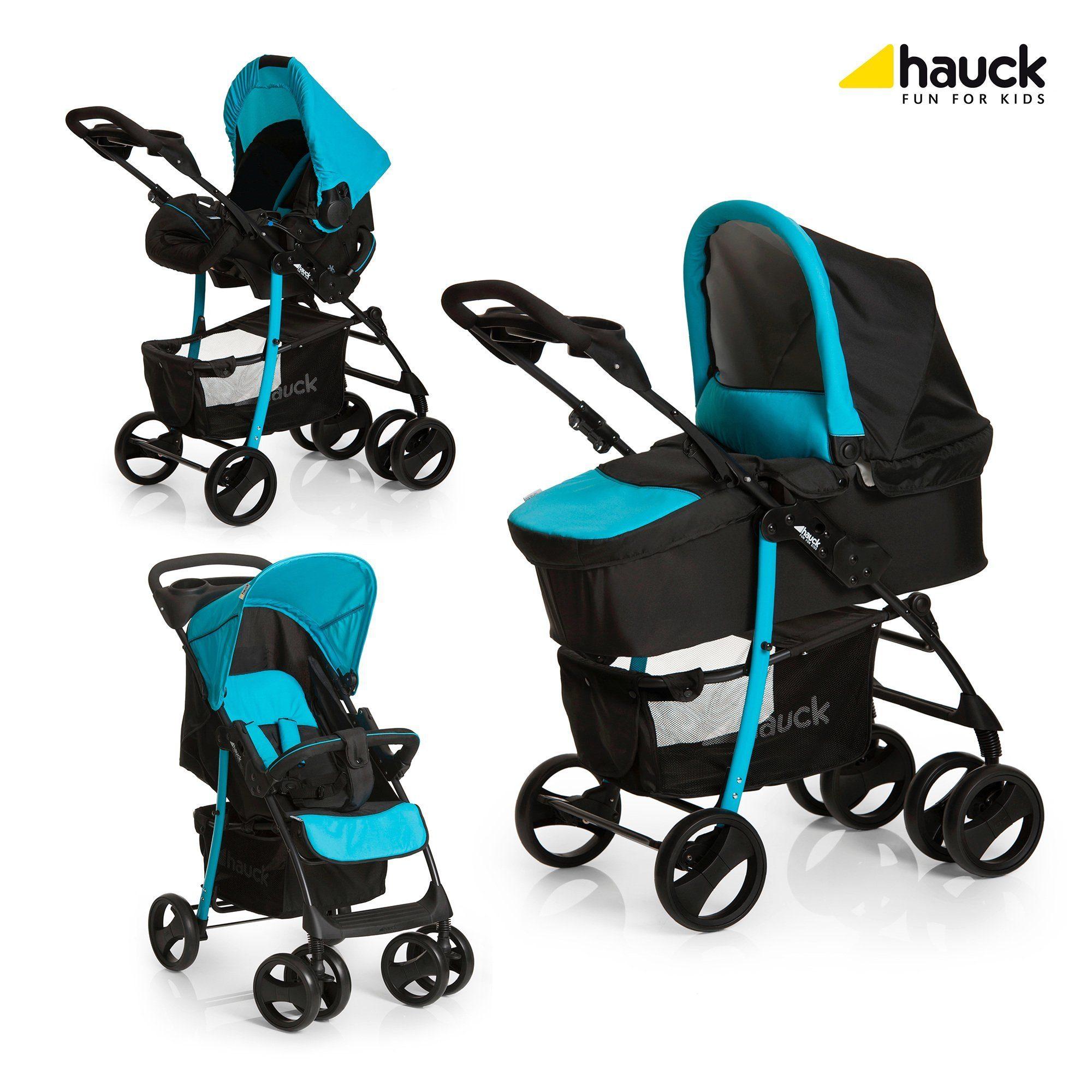 HAUCK Shopper SLX Kombikinderwagen Trio-Set Design 2016