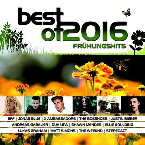 Audio CD »Various: Best Of 2016-Frühlingshits«
