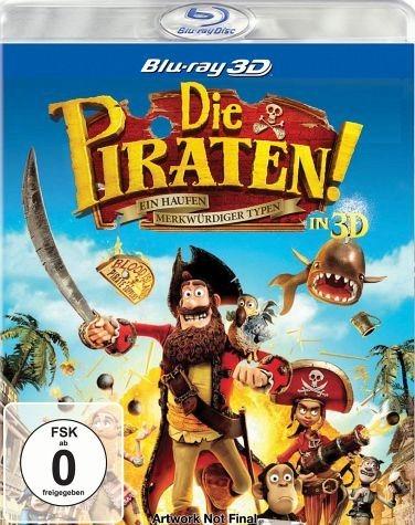 Blu-ray »Die Piraten! - Ein Haufen merkwürdiger Typen...«