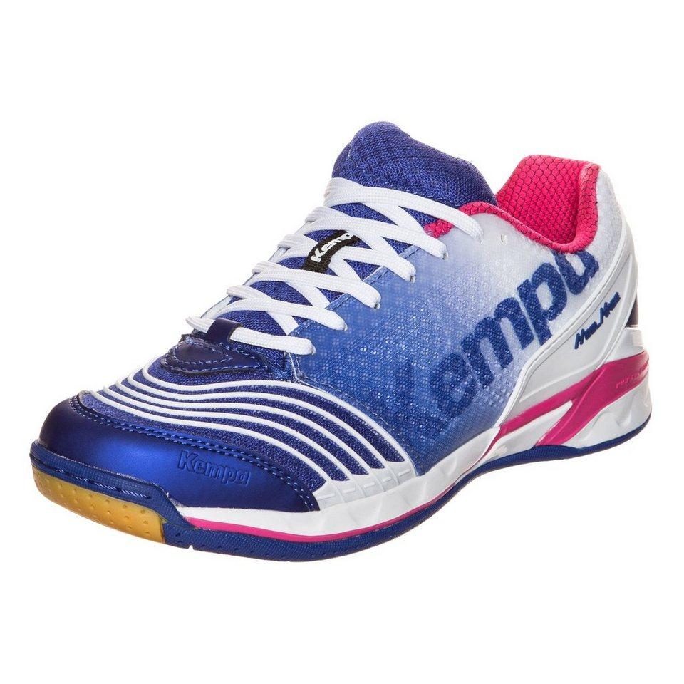 KEMPA Attack One Handballschuh Damen in blau/weiß/pink