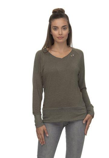 Ragwear Sweater »Ragwear Sweater Damen BERNICE 2011-25003 Grün Olive 5031«