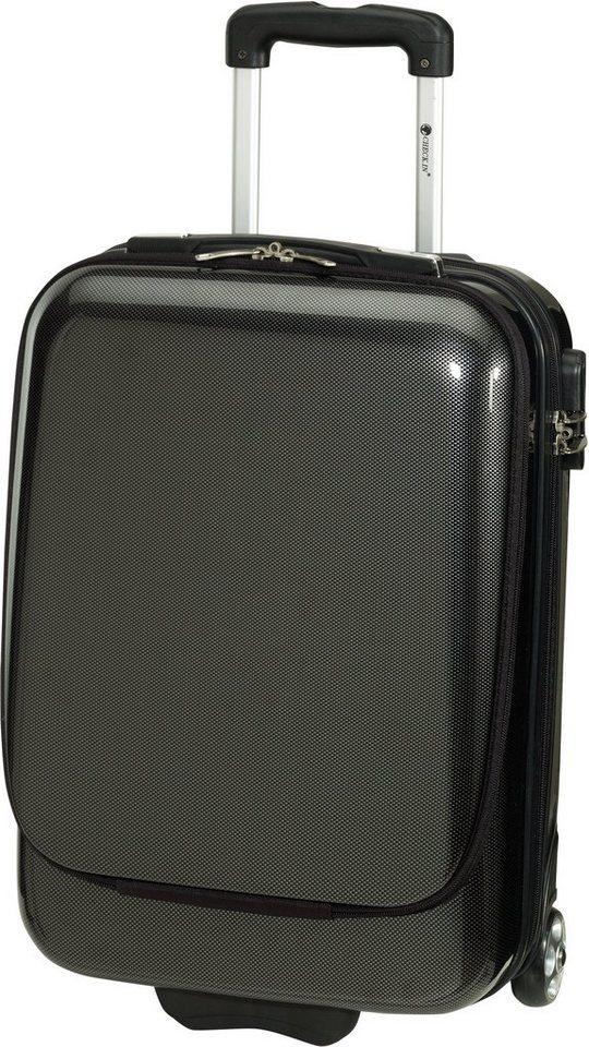 check in business trolley mit laptopfach und 2 rollen. Black Bedroom Furniture Sets. Home Design Ideas