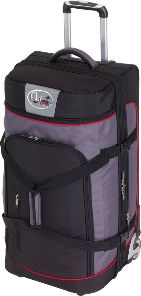 outbag trolley reisetasche mit 2 rollen outbag sports l. Black Bedroom Furniture Sets. Home Design Ideas