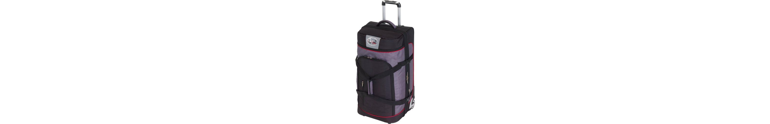 OutBAG Trolley Reisetasche mit 2 Rollen, »OutBAG SPORTS L, schwarz/rot«