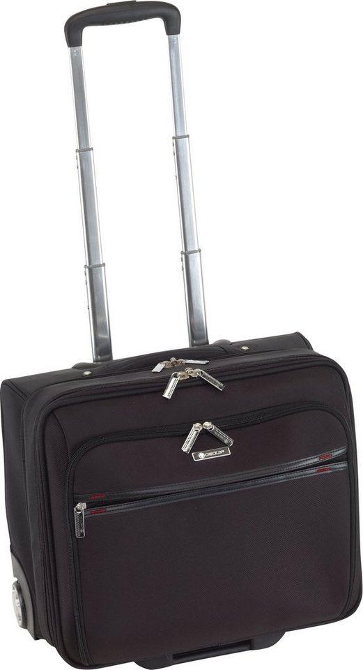 CHECK.IN® Businesstrolley mit 2 Rollen, »Business Cabin Case Bonn« in schwarz