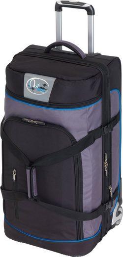 Reisetasche »OutBAG SPORTS XL, schwarz/blau«