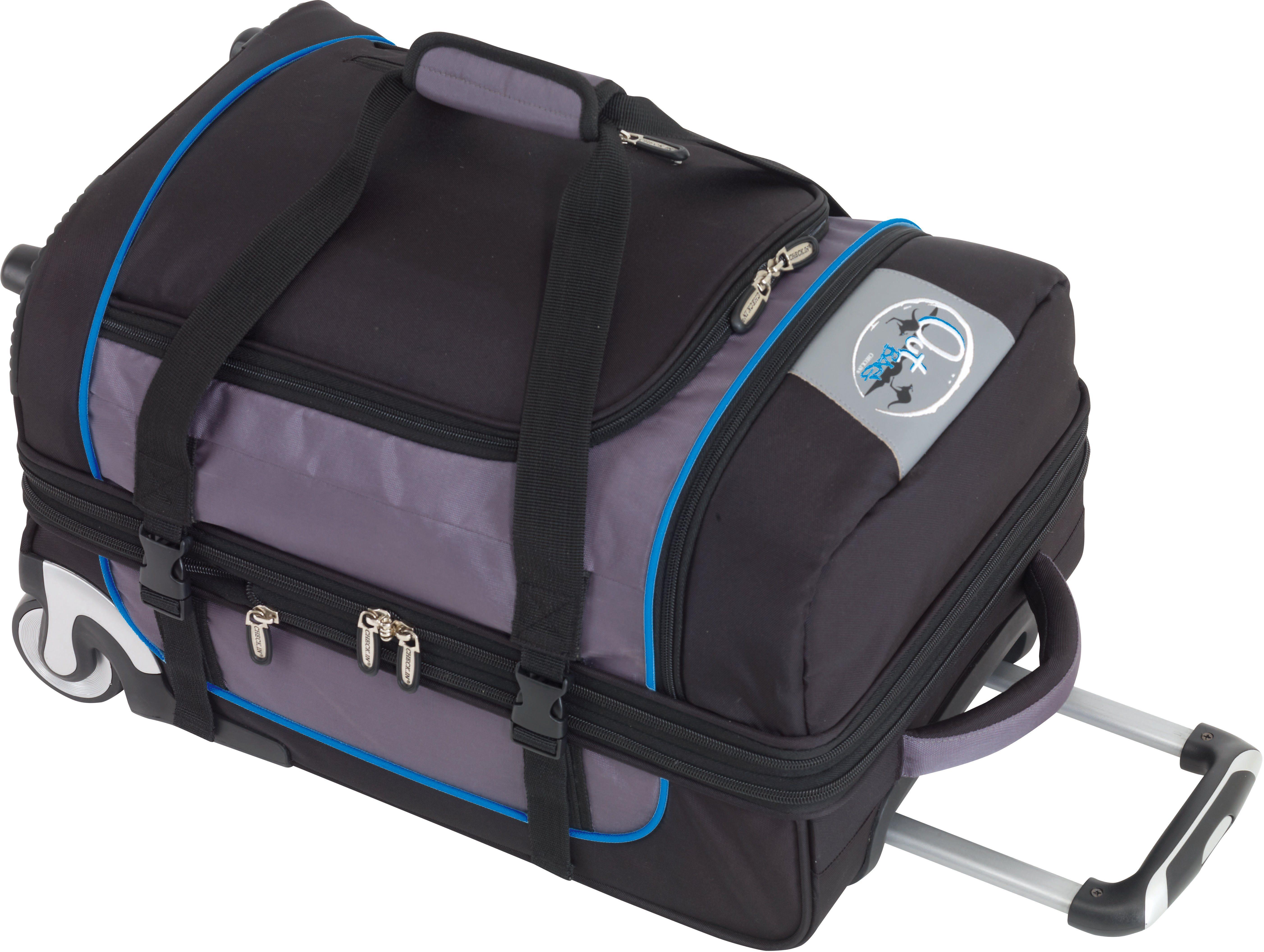 OutBAG Trolley-Reisetasche mit 2 Rollen, »OutBAG SPORTS S, schwarz/blau«