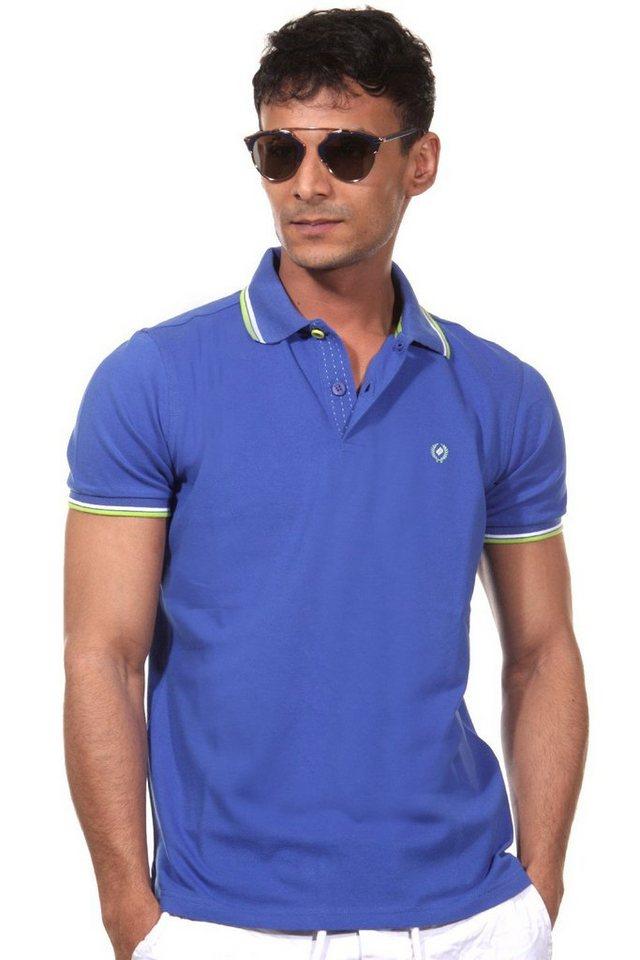 MCL Poloshirt in blau