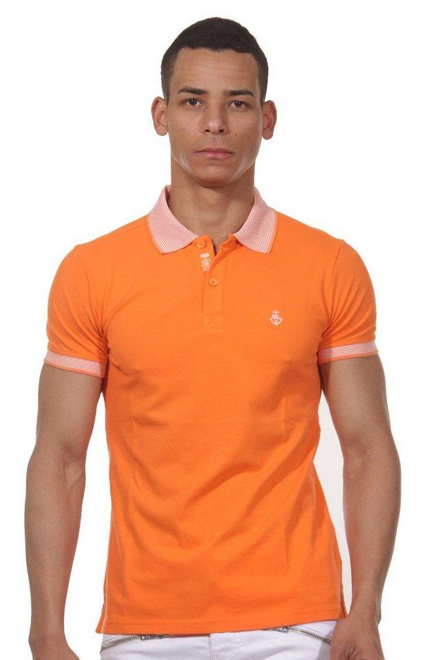 MCL Poloshirt in orange